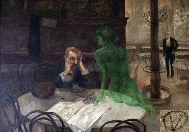 The Absinthe Drinker, Viktor Olivia