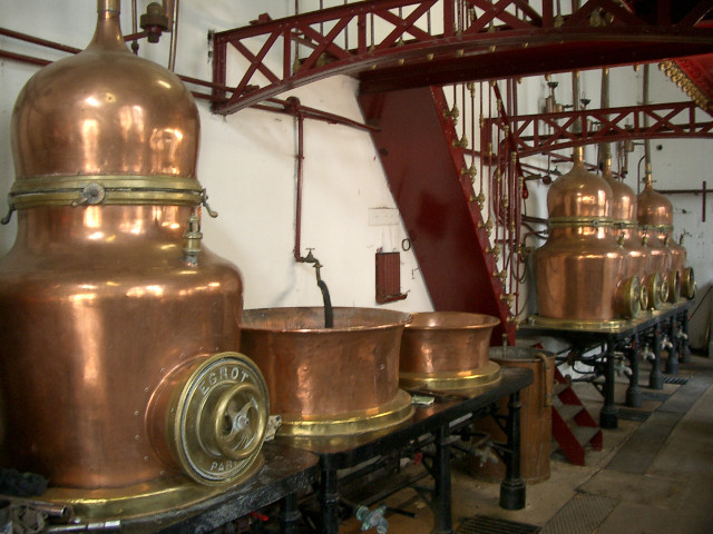 Inside the Distillery Combier